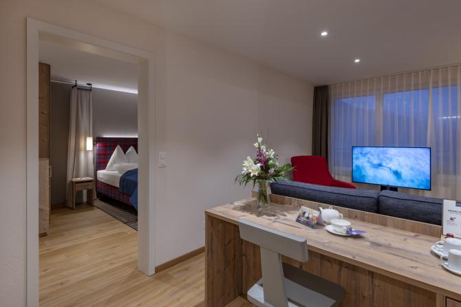 Suite - Sunstar Hotel Davos