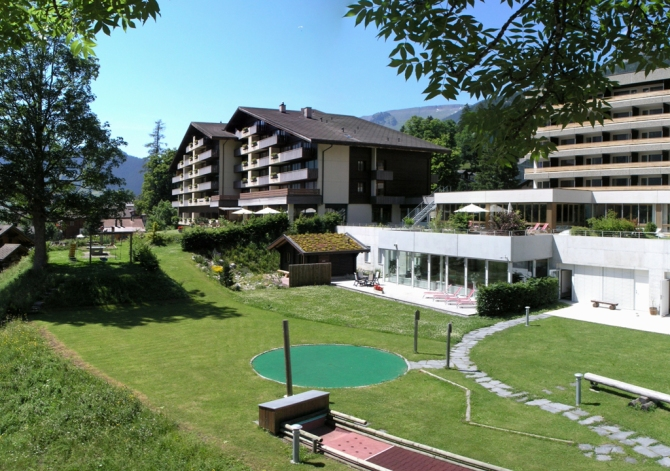 Garten Sunstar Hotel Grindelwald