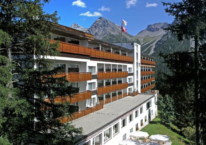 Sunstar Hotel Arosa - Sommer