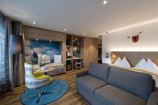 Familienzimmer Sunstar Hotel Arosa