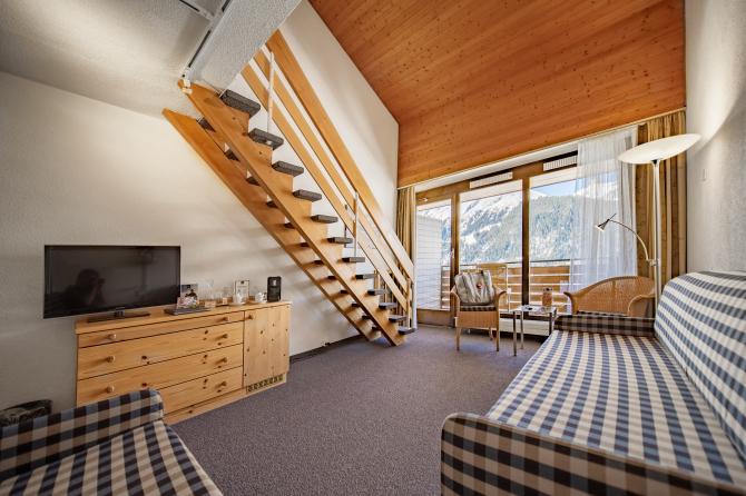 Duplex Familienzimmer - Sunstar Hotel Wengen
