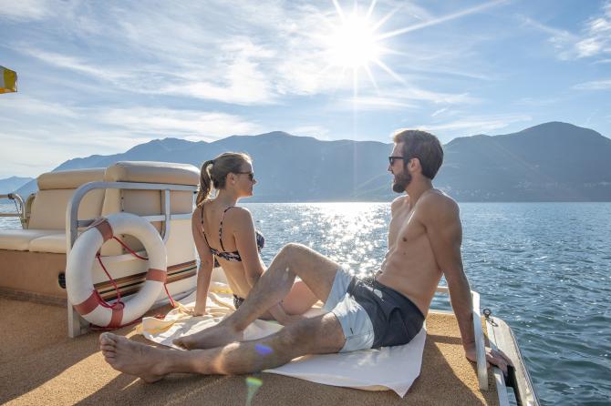 Hotelboot - Sunstar Hotel Brissago, Tessin