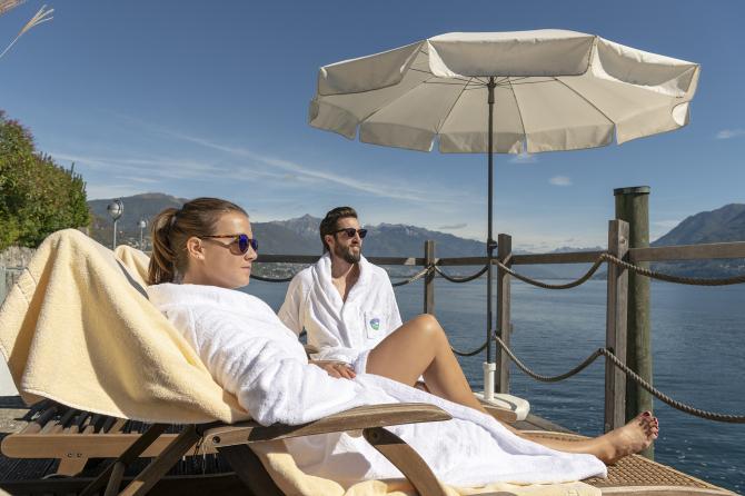 Seelounge - Sunstar Hotel Brissago, Tessin