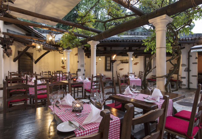 Grotto - Sunstar Hotel Brissago, Tessin