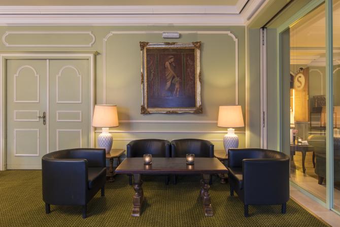 Grüner Salon, Sunstar Hotel Brissago