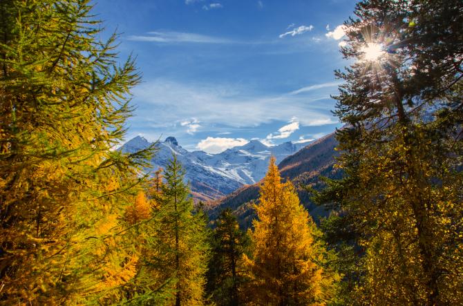 Herbst Saas-Fee