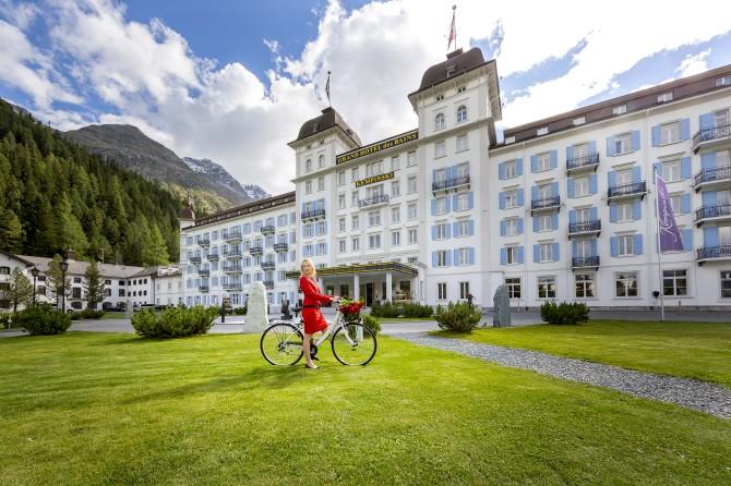 Kempinski St. Moritz im Sommer