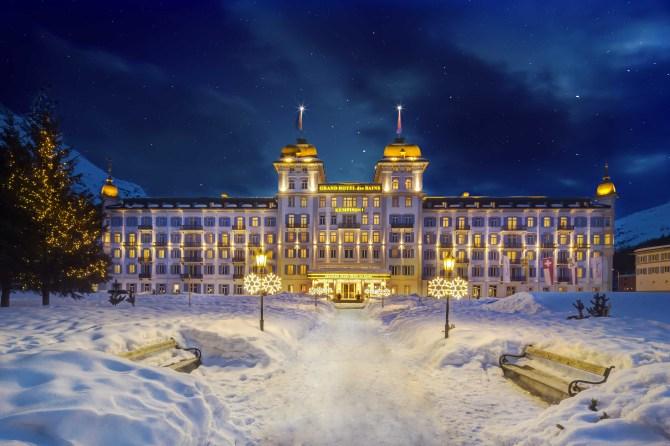 Kempinski St. Moritz Winterabend