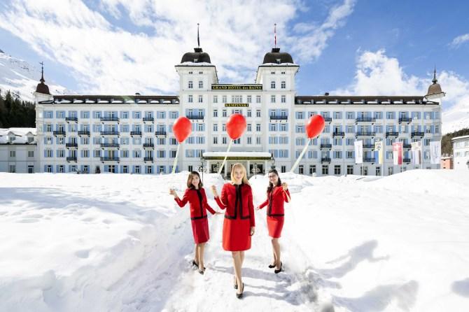 Kempinski St. Moritz Winter