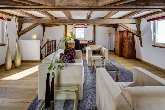 Kempinski St. Moritz Tower Suite