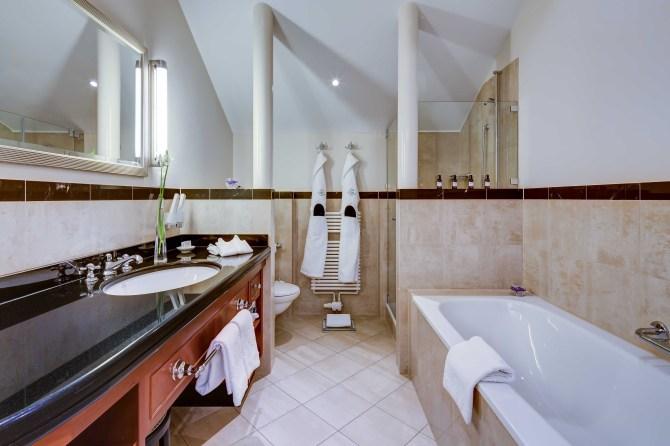 Kempinski St. Moritz Bathroom