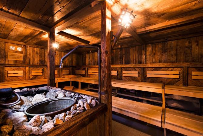 Kempinski St. Moritz Finnish Sauna