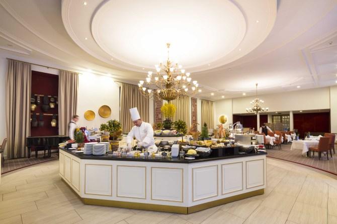 Kempinski St. Moritz Grand Restaurant Les Saisons