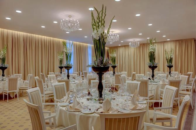 Kempinski St. Moritz Ballroom