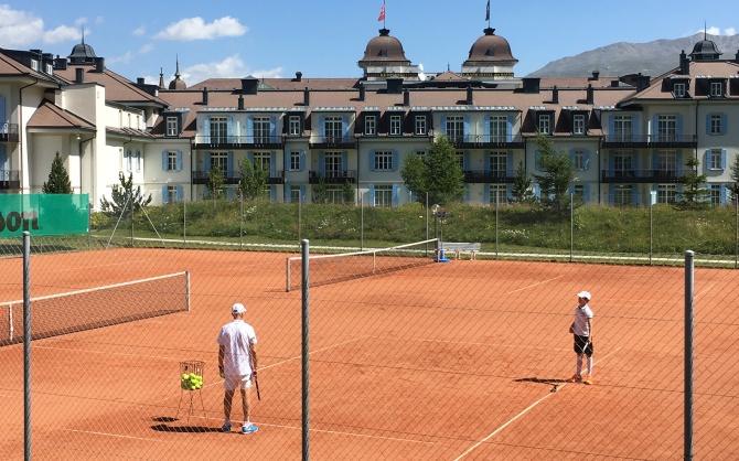 Kempinski St. Moritz Tennis