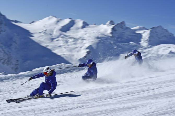 Kempinski St. Moritz Ski school