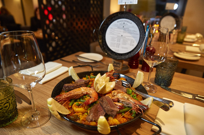 BOLERO Restaurante Special Paella