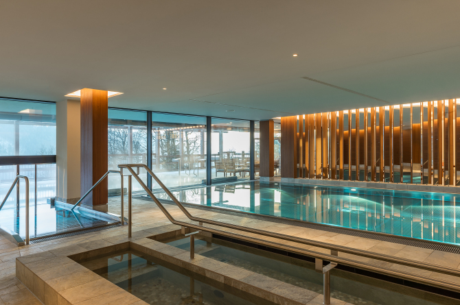 Innenpool - Waldhotel Spa