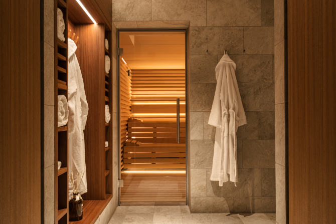 Sauna - Waldhotel Spa
