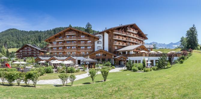 Chalet RoyAlp Hôtel & Spa en été