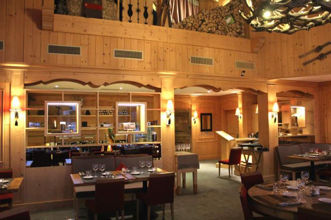 Le restaurant Le Rochegrise