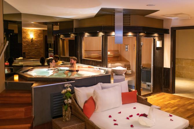 Spa privé au Chalet RoyAlp Hôtel & Spa