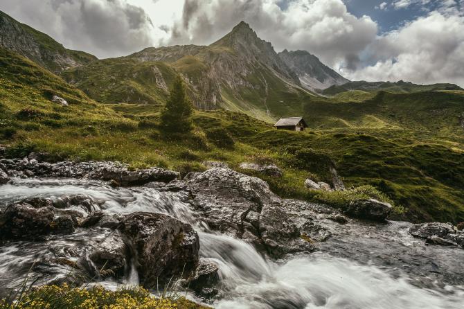 Landschaft Arosa
