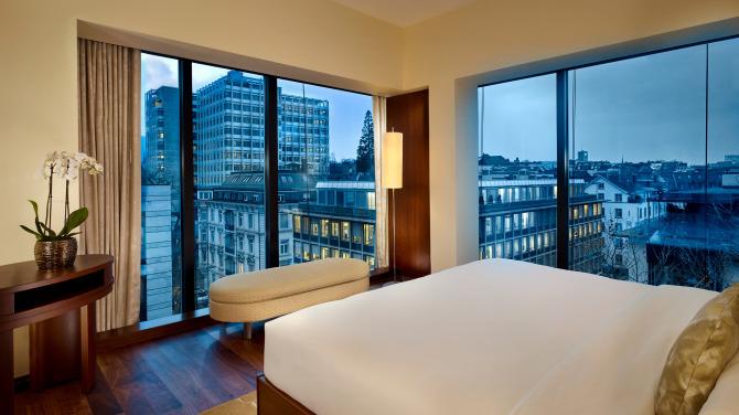 Park Hyatt Zurich – Park Corner Suite