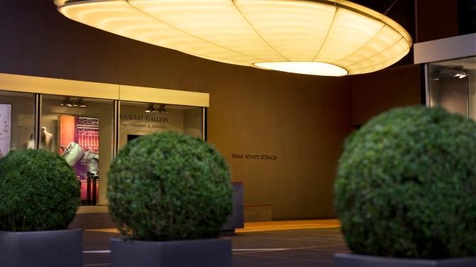 Park Hyatt Zurich – Entrance
