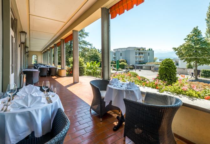 Grand Hotel Europe-Terrasse