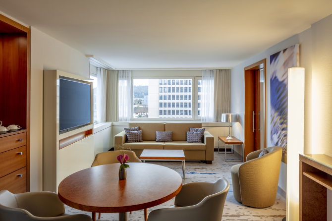 Excutive Suite Wohnzimmer