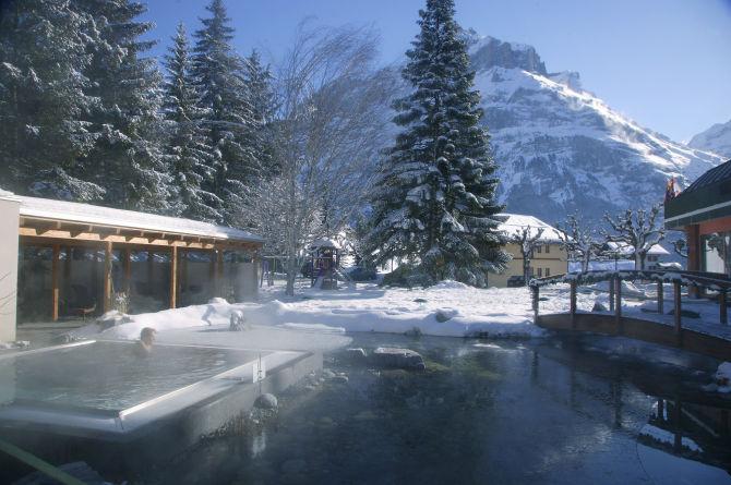 Wellness im Hotel Belvedere Grindelwald