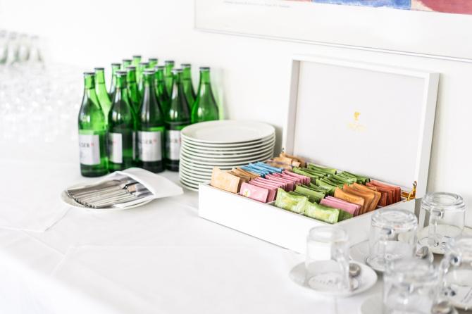 Sitzungszimmer Getränke