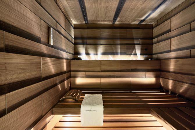 Private Spa Suite Sauna