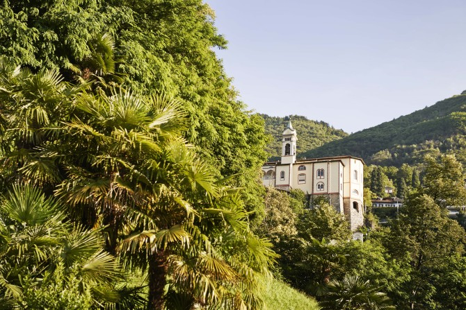 Madonna del Sasso church