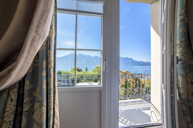 ghdl chambre fenêtre vue lac