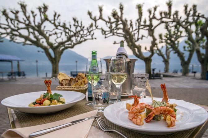 Abendessen Terrasse