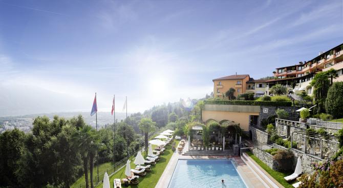 Aussicht über den Lago Maggiore