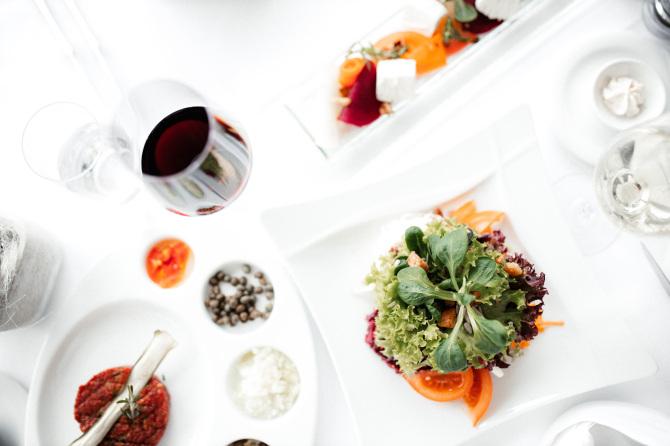 Vorspeisen Panoramarestaurant