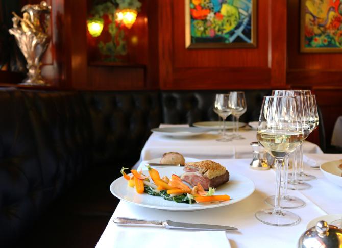 Dejeuner Restaurant de la Cigogne