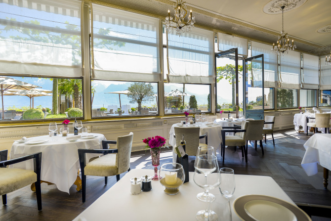 le restaurant Trois Couronnes