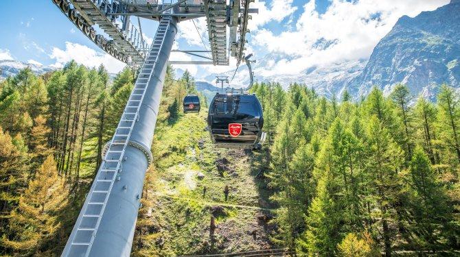 Bergbahnen Saas-Fee